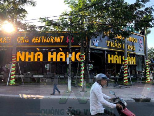 Thi công dự án Nhà hàng - Hầm rượu Trần Long